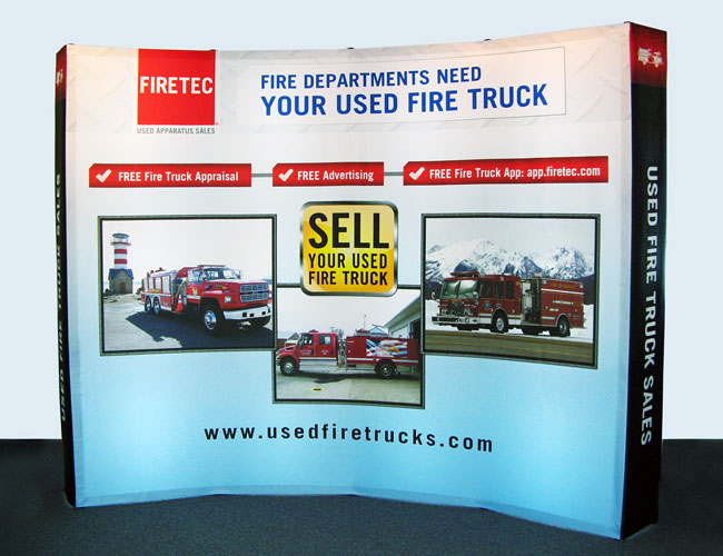 POP-UP AND PORTABLE DISPLAYS - Edgeworks Display - Vermont